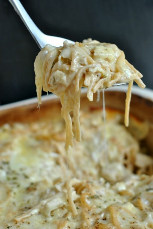 Easy And Delish Chicken Tetrazzini Casserole