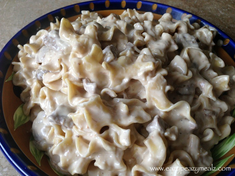 Fast And Easy Crock Pot Beef Stroganoff