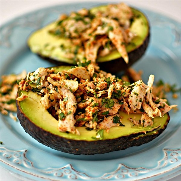 Impress Your Family And Friends With These Amazing Mexi-Chicken Avocado Cups