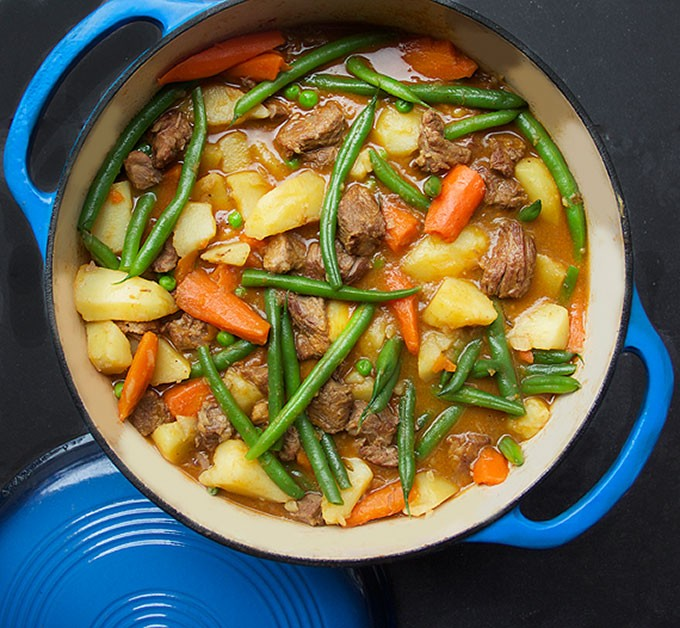 A Delicious One-Pot Wonder: Lamb Stew With Spring Vegetables