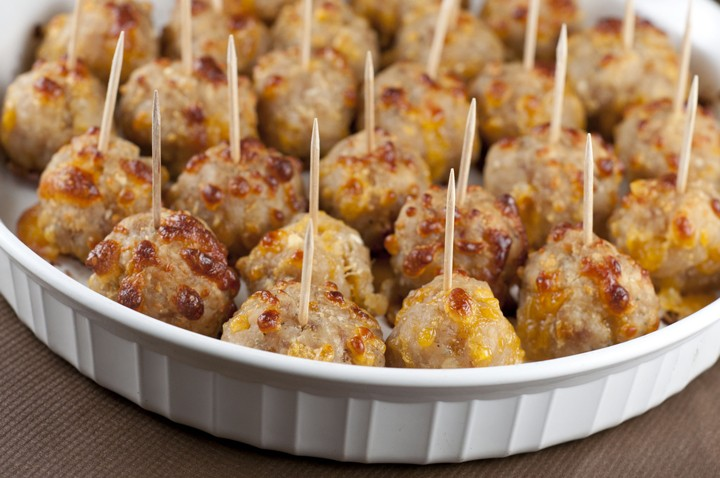 Perfect Little Appetizer: Sausage Cheese Balls (Not The Traditional Meatball Recipe)