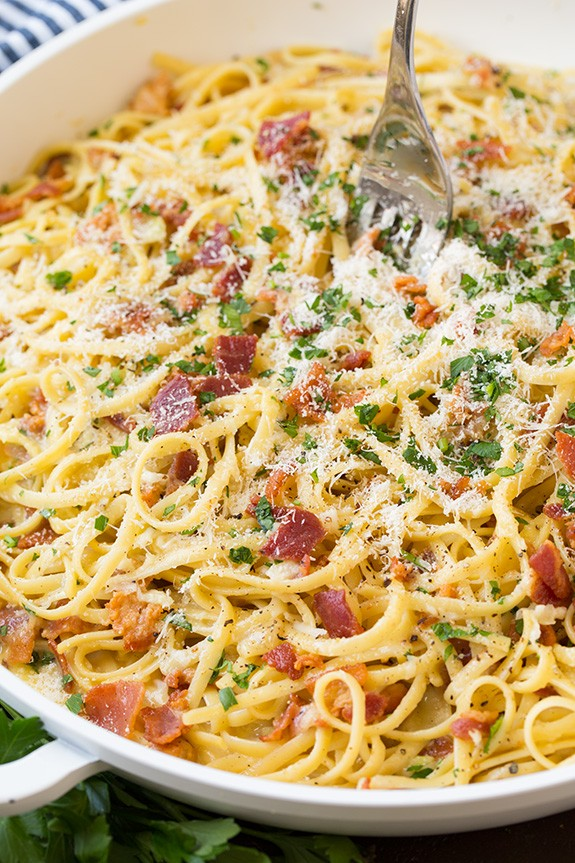 Simply Delicious Pasta Carbonara Anyone Could Make