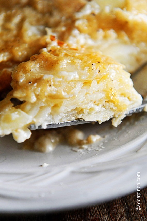 Creamy, Cheesy And Out Of This World Delicious Scalloped Potatoes