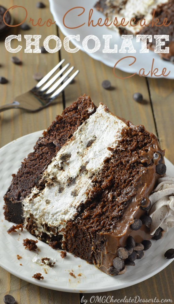 Seriously, This Oreo Cheesecake Chocolate Cake Is A Showstopper – Wow!