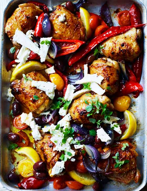 Simple And Incredibly Tasty Greek-Style Chicken Traybake Recipe