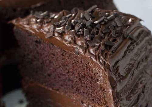 This Excellent Old Fashioned Chocolate Buttermilk Cake Is