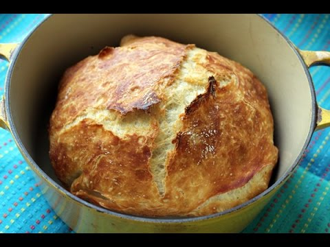 You'll Be Amazed How Easy It Is To Make This Fabulous No Knead Bread!
