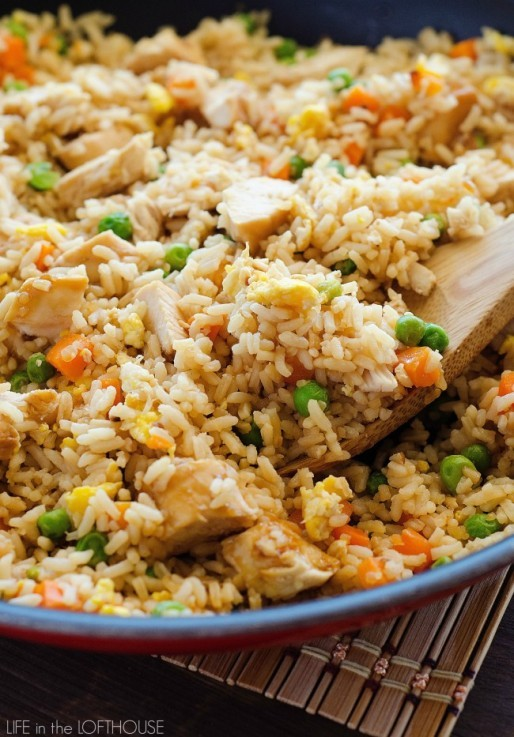 Better Than Takeout And So Easy To Make Chicken Fried Rice