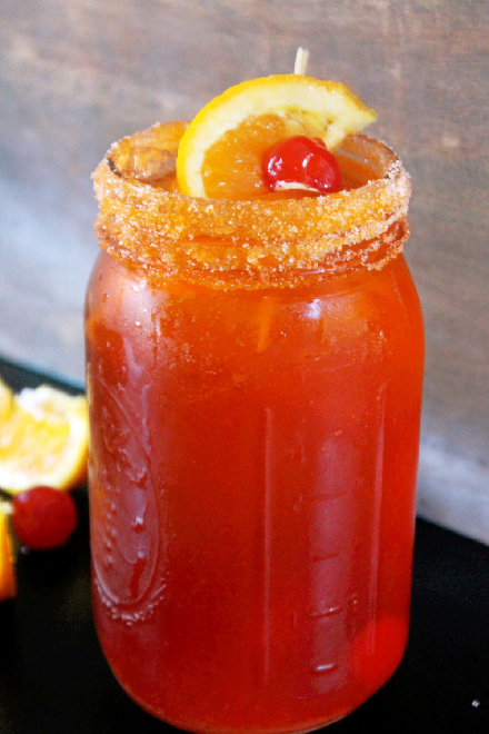 Deliciously Simple Orange Creamsicle Shirley Temple