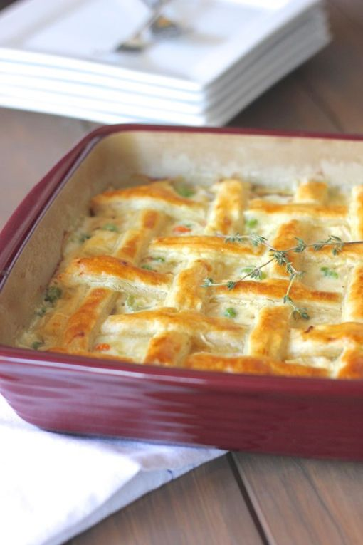 Elegant Chicken Pot Pie
