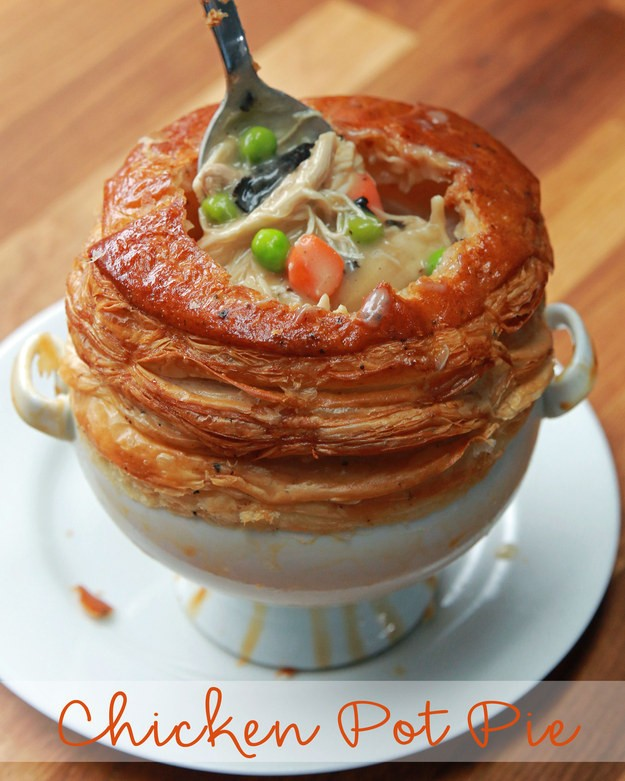 Chicken Pot Pie (As Made By Wolfgang Puck)