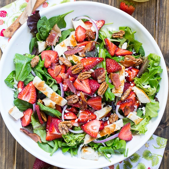 Incredible Strawberry Salad That Is Perfect For Spring