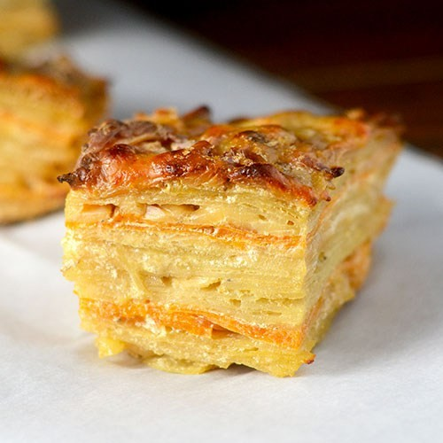 Insanely Delicious Way To Eat Potatoes For Dinner: Two Layered Potatoes