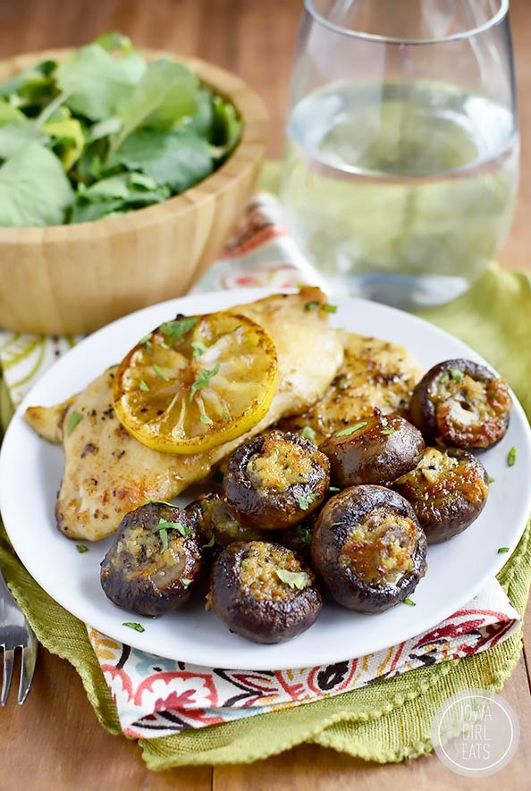 Easy And Delicious Garlic Butter Roasted Mushrooms