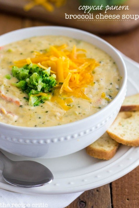 This Copycat Panera Broccoli Cheese Soup Is Divine!