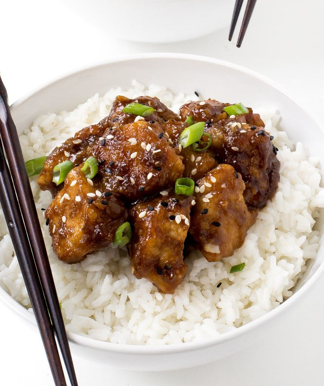 Super Easy Slow Cooker General Tso's Chicken- Way Better Than Takeout!
