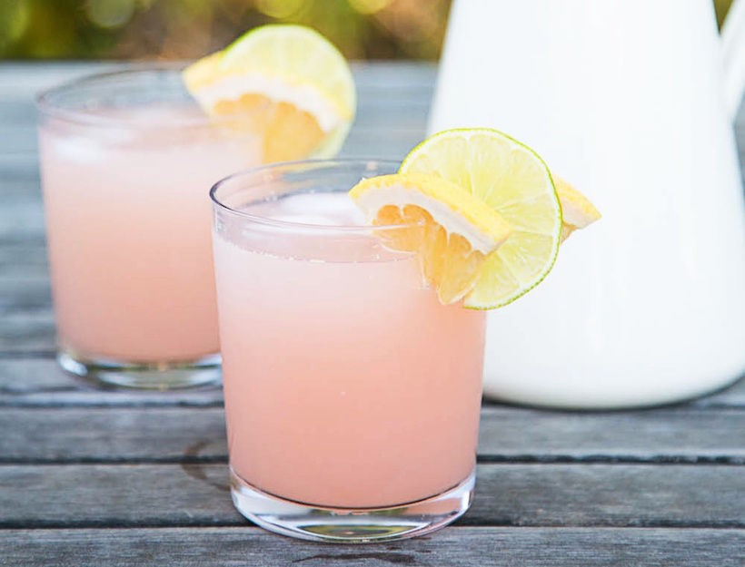 Paloma Pitcher Cocktail- The Ultimate Make-Ahead Summer Drink!