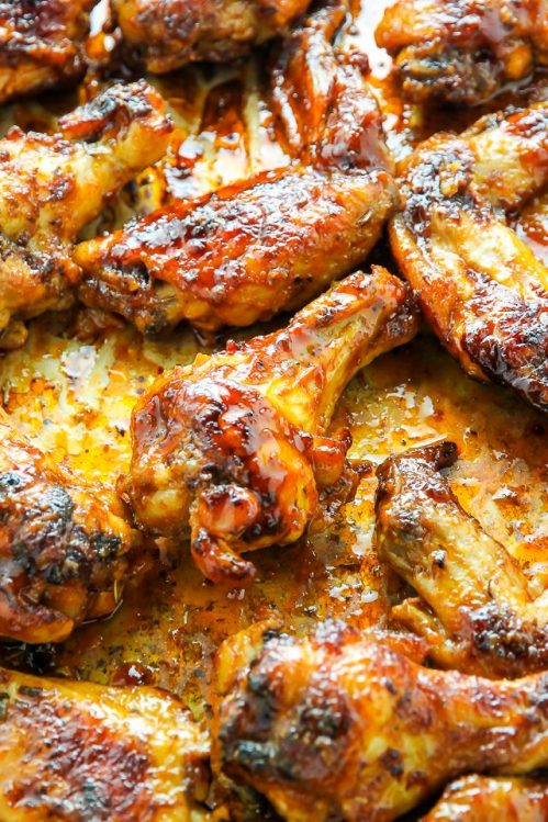 Juicy And Unbelievably Flavorful Slow Cooker Chicken Wings