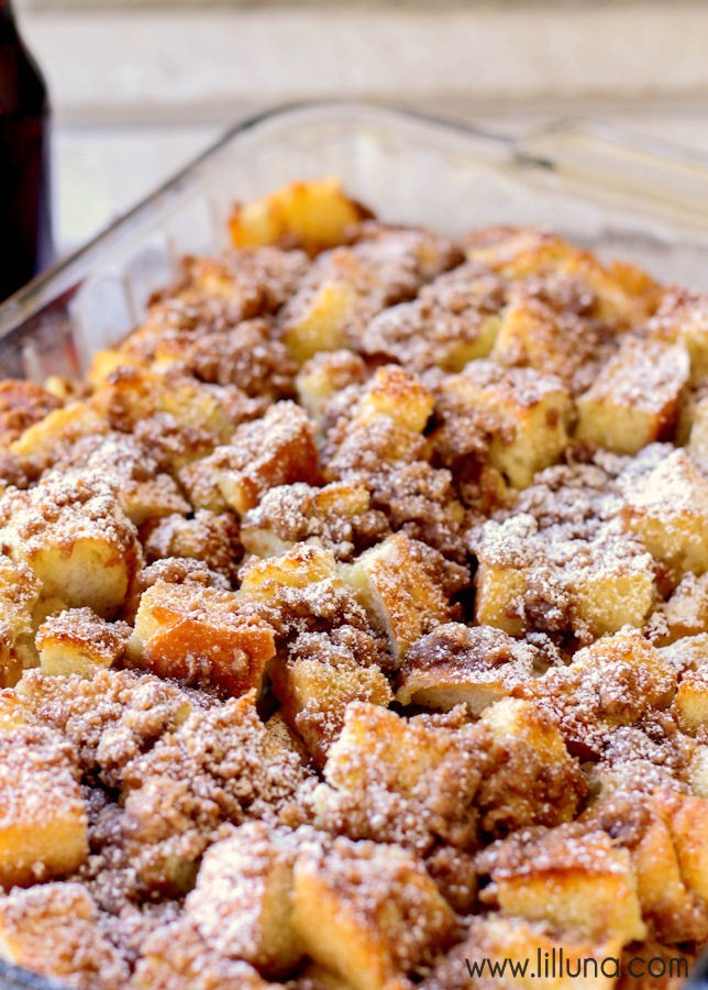 Super Easy To Make And Amazingly Delicious French Toast Bake