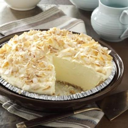 Creamy And Delicious No-Bake Coconut Pie