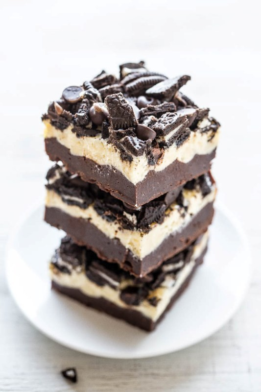 Seriously Delicious Loaded Oreo Cream Cheese Brownies Recipe- Perfect For Summer