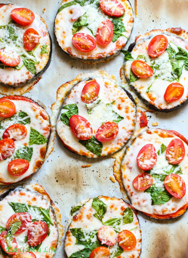 These Delicious And Easy To Make Mini Eggplant Pizzas Are A Hit!