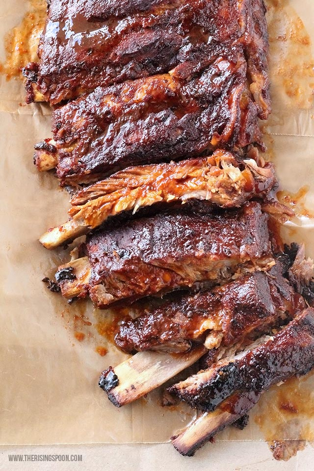 Heavenly Crock-Pot Barbecue Ribs
