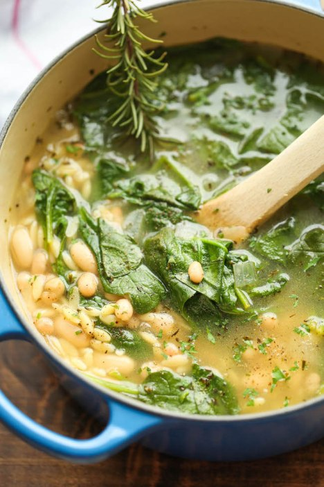 This Spinach And White Bean Soup Is Absolutely Amazing! - Daily ...