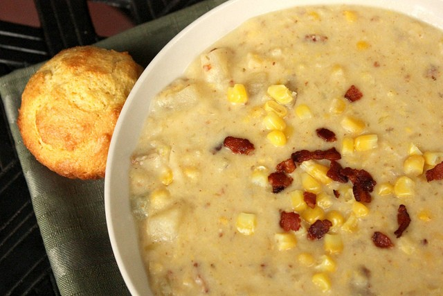 The Easiest Slow Cooker Corn And Potato Chowder You Will Ever Make