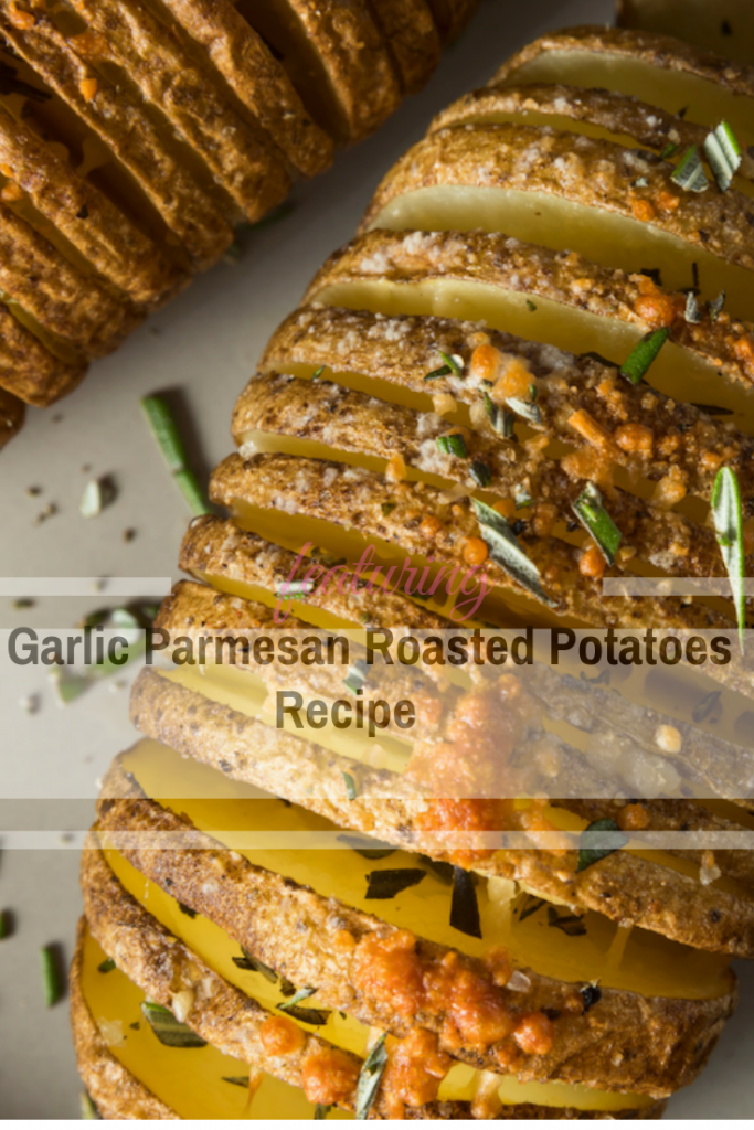 This Garlic Parmesan Roasted Potatoes Side Dish Will Make You Forget All About The Main Course
