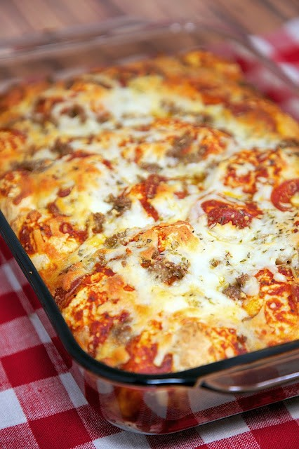 So Easy And Wonderful This Quick Pizza Casserole Will Be Made Over & Over Again