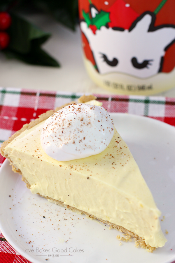 Your Holiday Won't Be Complete Without This No-Bake Eggnog Pie!