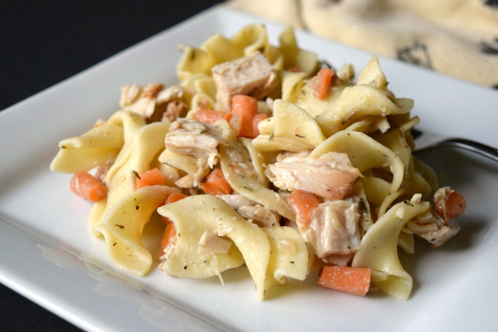 Simple, Hearty And Delicious Leftover Turkey Noodle Casserole