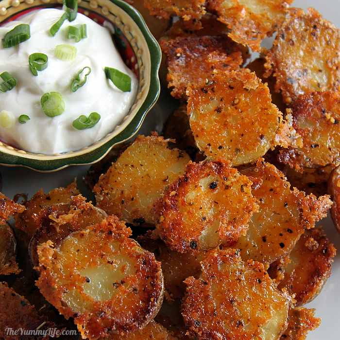 Parmesan Garlic Roasted Baby Potatoes- Quick, Easy, And Delicious!