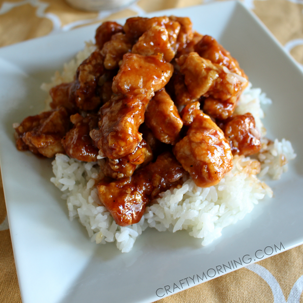 Easy Orange Chicken Sauce Recipe With Only 3 Ingredients