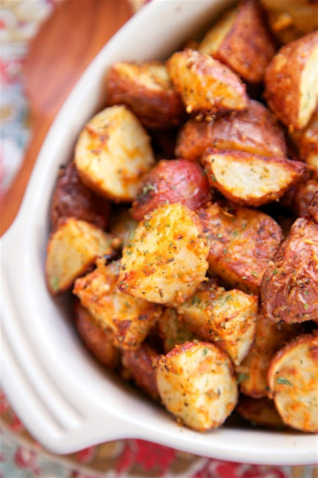 Roasted Garlicy Potatoes That Are to Die For