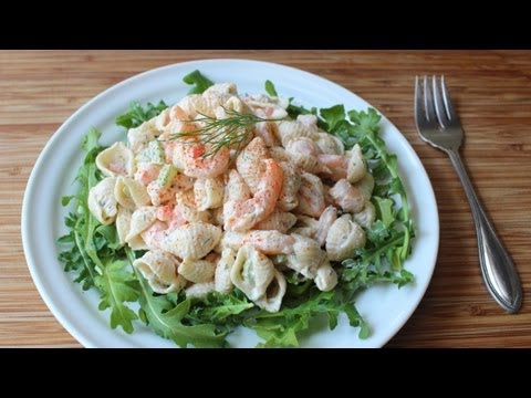 Easy Macaroni Salad with Shrimp Recipe