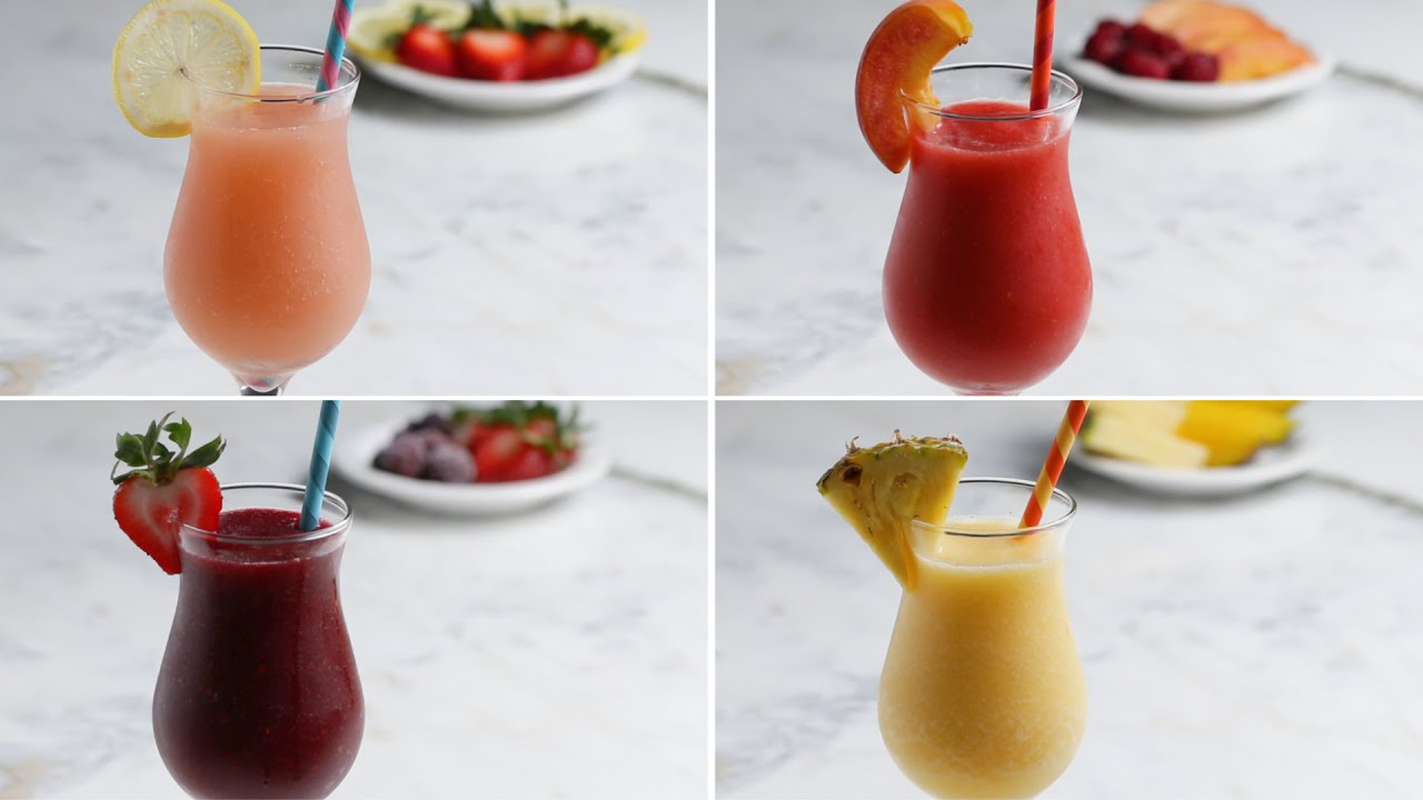 Cool Off This Summer With Frozen Sangria 4 Ways