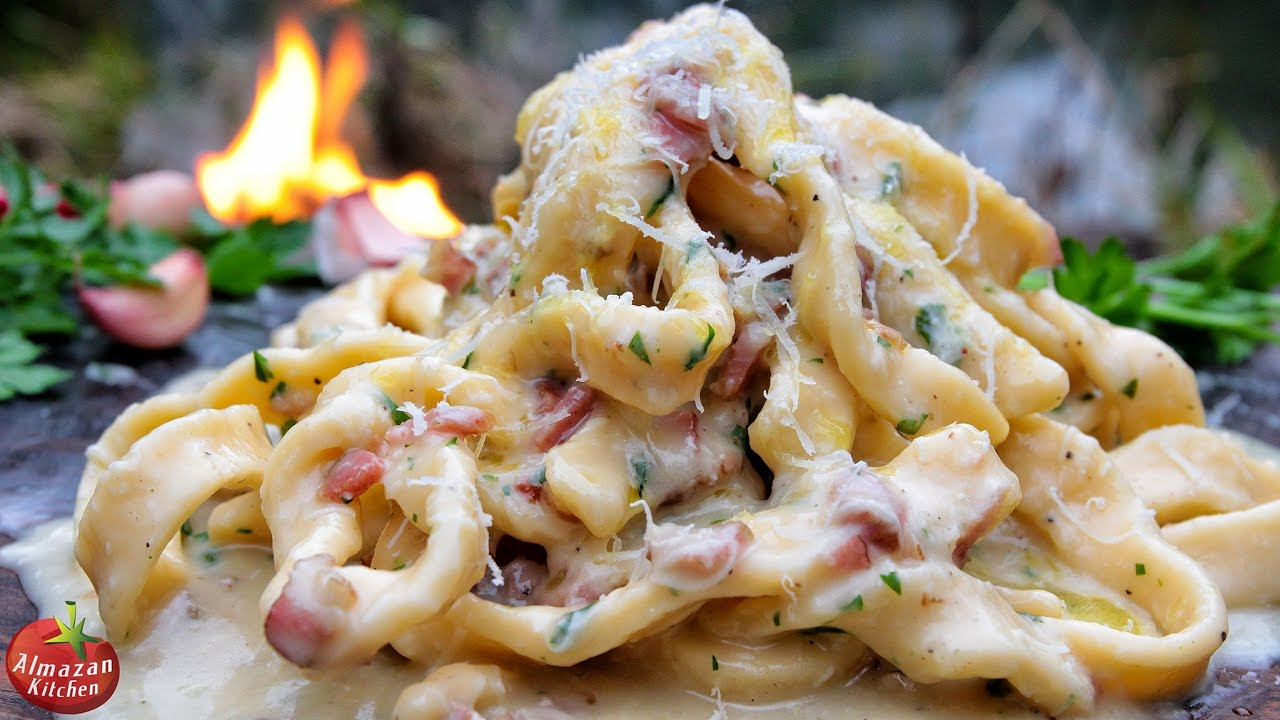 Quick, easy delicious pasta dinner (with Bacon and TWO ...  Delicious Pasta Carbonara