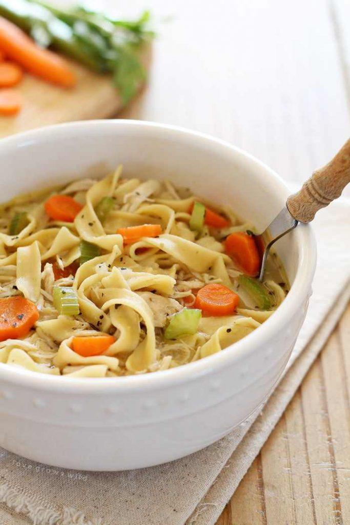 Delicious Homemade Chicken Noodle Soup Ready In Under 30 Minutes!
