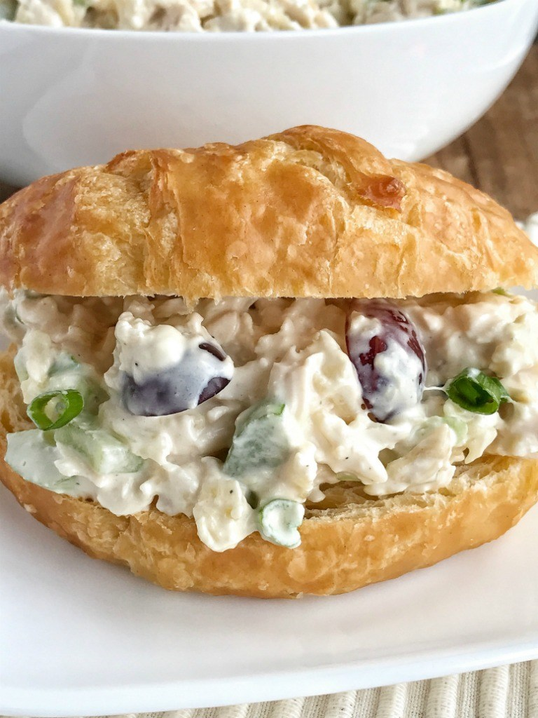 Delicious Chicken Salad Sandwich With Grapes Recipe Daily Cooking Recipes
