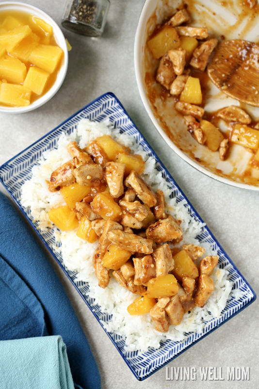 These 30 Minute Chicken Recipes Are Great Dinner Ideas For Tonight-Easy Aloha Chicken Dinner-
