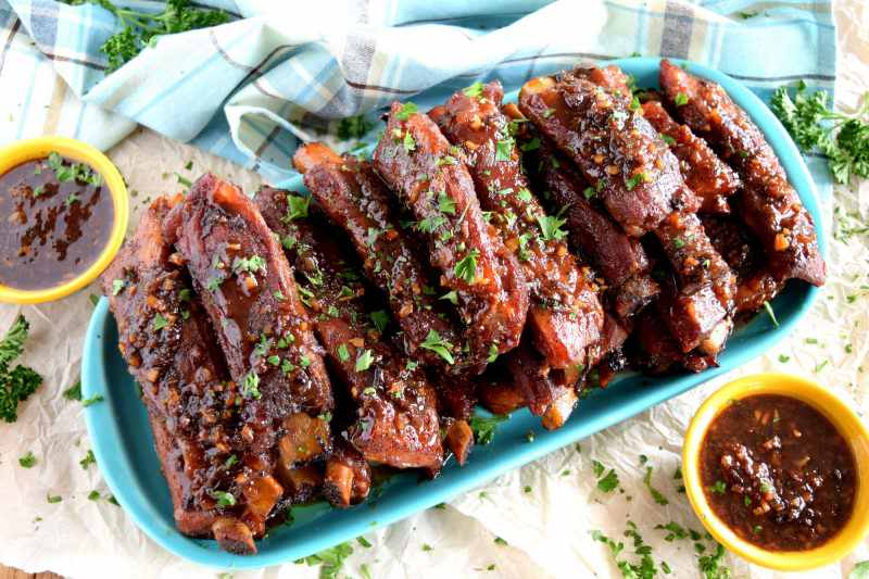 Copycat Chinese Restaurant Recipes To Make At Home-Copycat Chinese Restaurant Dry Garlic Ribs