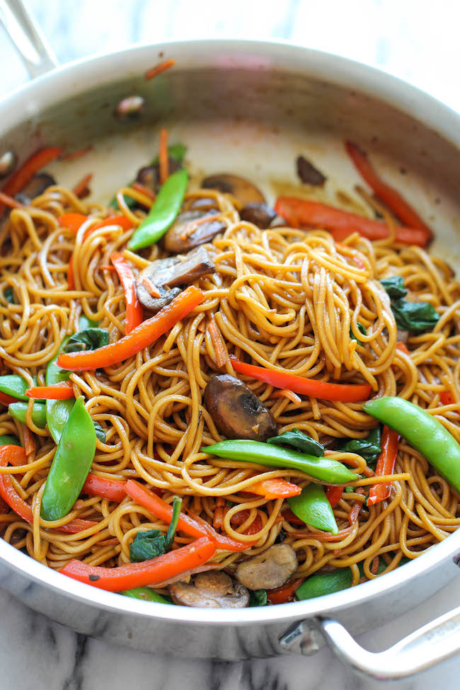 Copycat Chinese Restaurant Recipes To Make At Home-Easy Lo Mein