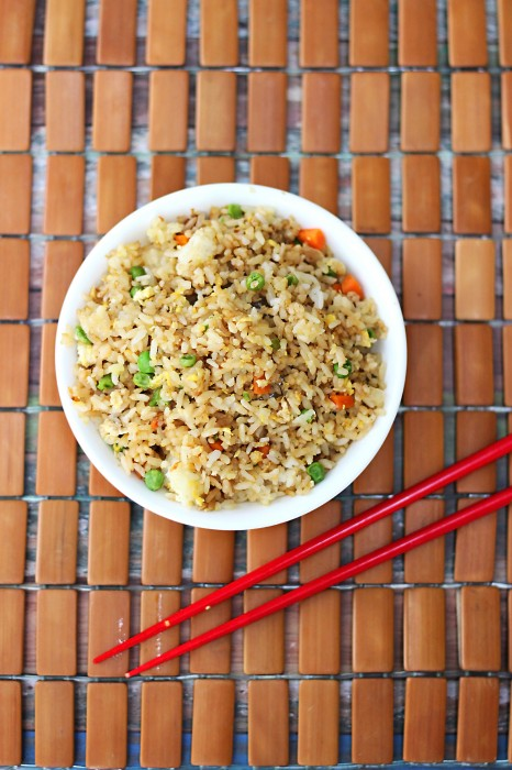 Copycat Chinese Restaurant Recipes To Make At Home- Chinese Restaurant Fried Rice