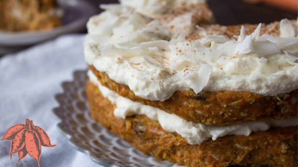 This Raw Coconut Carrot Cake Might Be Your New Favorite Dessert