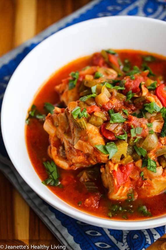 Clean Eating Slow Cooker Creole Chicken Stew