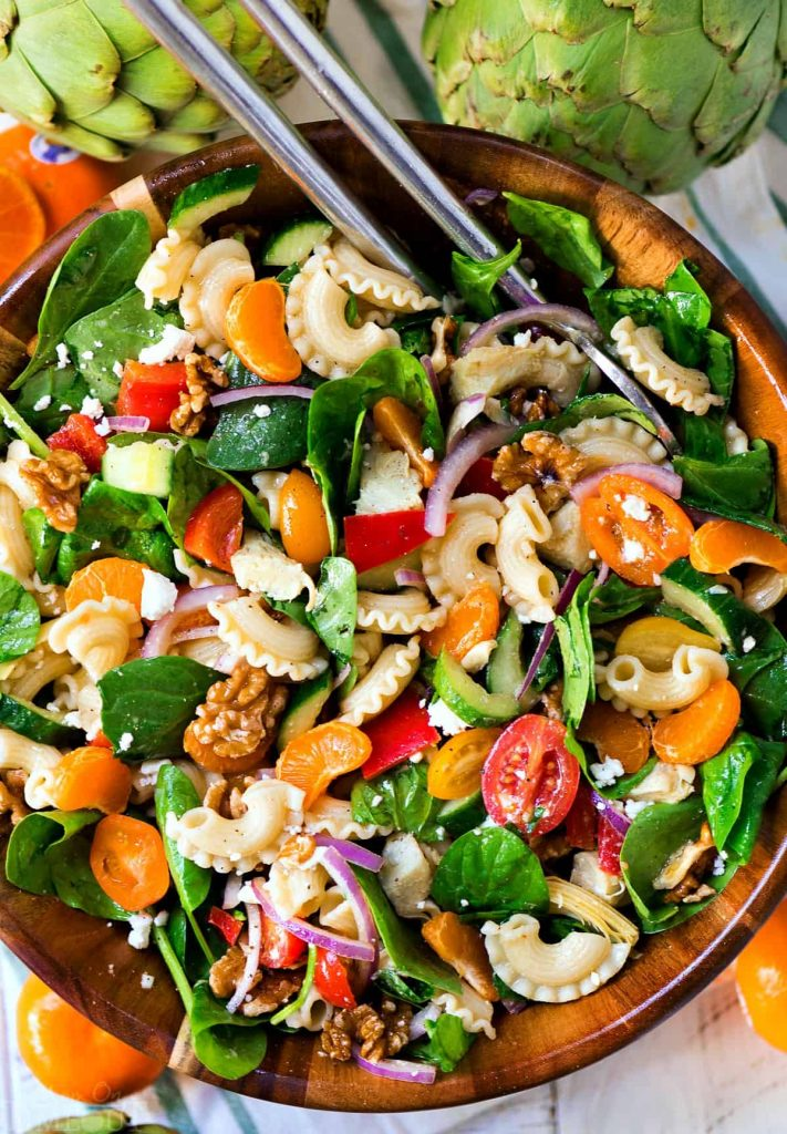 14 Summer Salad Recipe Ideas That Will Fill You Up--Perfect Pasta Salad