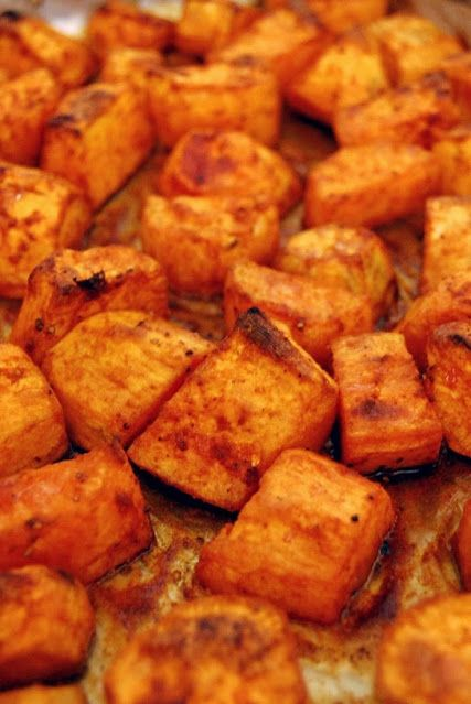 Roasted Sweet Potatoes With Honey and Cinnamon -11 Easy Ways To Cook Sweet Potatoes