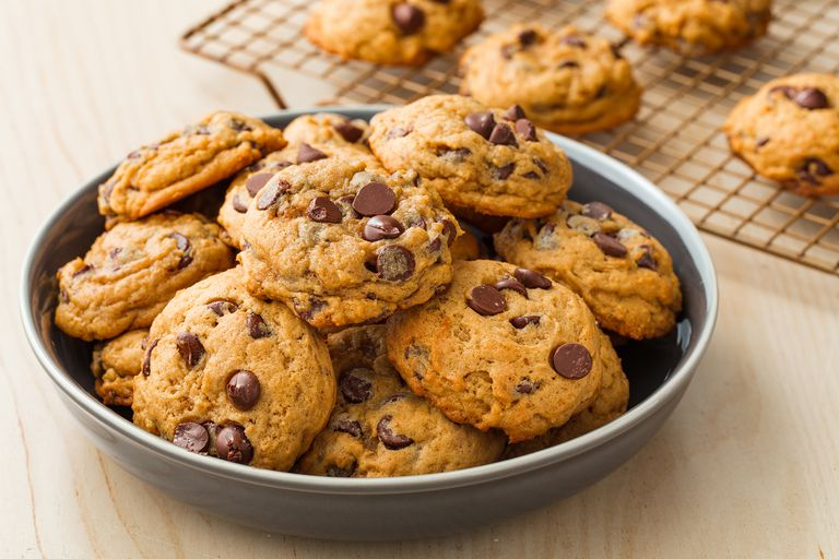 These Pumpkin Spice Chocolate Chip Cookies Will Be A Hit At Any Bake Sale Or Dinner Party